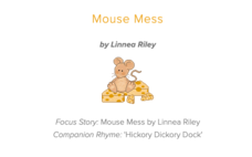 Mouse Mess Lesson Plan