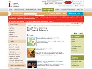 Different Friends Lesson Plan
