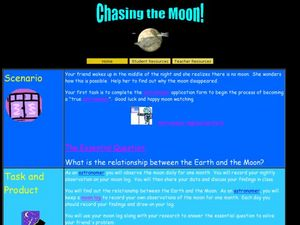 Chasing the Moon Lesson Plan