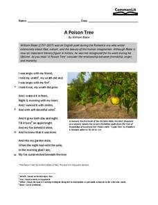 the discussion on human weakness in william blakes poem a poison tree Issuu is a digital publishing platform that makes it simple to  title: dec 17th 1988, author: radio  winnie the pooh and the honey tree itv ,.