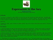 Expression is the Key Lesson Plan