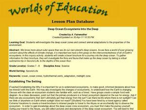 Ocean Zones Diagram Lesson Plans Amp Worksheets Reviewed By Teachers