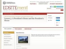 A President's Home and the President's House Lesson Plan