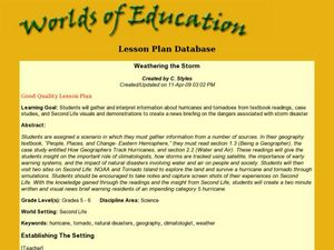 Weathering the Storm Lesson Plan