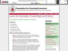 Externalities, Property Rights and Pollution Lesson Plan
