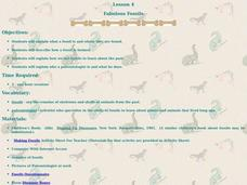 Fabulous Fossils Lesson Plan