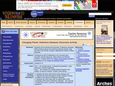 Changing Planet: Infectious Diseases Classroom Activity Lesson Plan