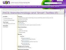 "FACS:Nanotechnology and ""Smart"" Textiles (IT) Lesson Plan"