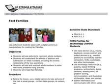 Fact Families Lesson Plan