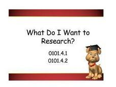 What Do I Want to Research? Presentation