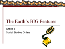 The Earth's BIG Features Presentation