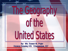 The Geography of the United States Presentation