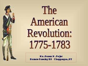 Articles of confederation lesson plans worksheets lesson planet the american revolution 1775 1783 toneelgroepblik Images