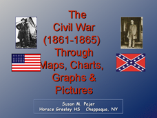 The Civil War (1861-1865) Through Maps, Charts, Graphs, & Pictures Presentation