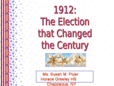 1912: The Election that Changed the Century Presentation