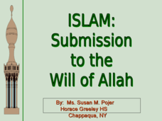 Islam: Submission to the Will of Allah Presentation