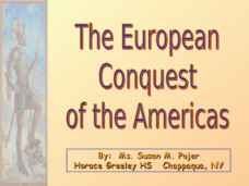 the european conquest of the americas Comprehensive list of vocabulary definitions that you will need to help you understand the effects of the columbian exchange and european colonization on the americas.