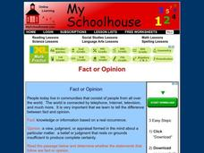 Fact or Opinion Interactive