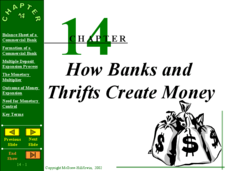 Chapter 14: How Banks and Thrifts Create Money Presentation