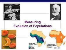 Measuring Evolution of Populations Presentation