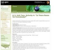 Is There Room for Everybody? Lesson Plan