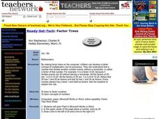 Factor Trees Lesson Plan
