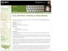 Rock Stories Lesson Plan