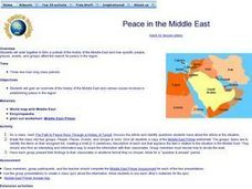 Peace in the Middle East Lesson Plan