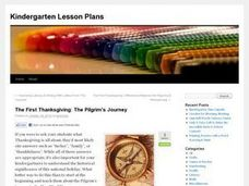 The First Thanksgiving: The Pilgrim's Journey Lesson Plan