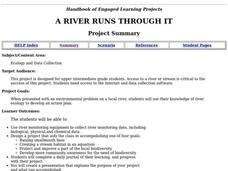 A River Runs Through It Lesson Plan