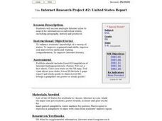 United States Report Lesson Plan