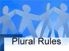 Plural Rules Lesson Plan