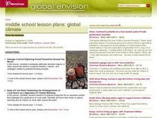 Global Climate Lesson Plans Lesson Plan
