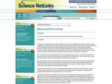 Measuring Cloud Coverage Lesson Plan