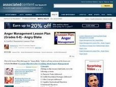 anger management lesson plans pdf