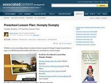 Preschool Lesson Plan: Humpty Dumpty Lesson Plan