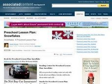 Preschool Lesson Plan: Snowflakes Lesson Plan