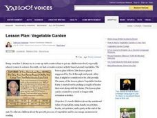 Vegetable Garden Lesson Plan