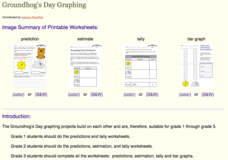 Groundhog's Day Graphing Lesson Plan