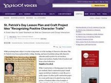 Recognizing Positive Character Traits Lesson Plan