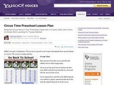 Circus Time Lesson Plan
