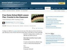 Crochet in the Classroom Lesson Plan