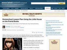 Using the Little House on the Prairie Books Lesson Plan