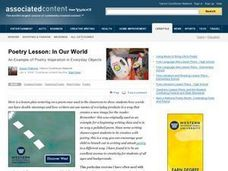 Poetry Lesson: In Our World Lesson Plan