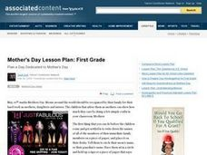 Mother's Day Lesson Plan Lesson Plan