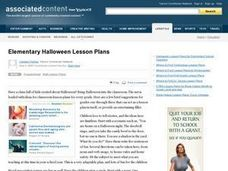 Halloween Lesson Plans Lesson Plan
