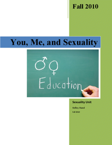 You, Me and Sexuality Lesson Plan