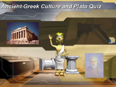 Ancient Greek Culture and Plato Quiz Presentation