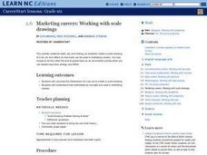 Marketing Careers: Working with Scale Drawings Lesson Plan
