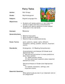 Fairy Tales Lesson Plan
